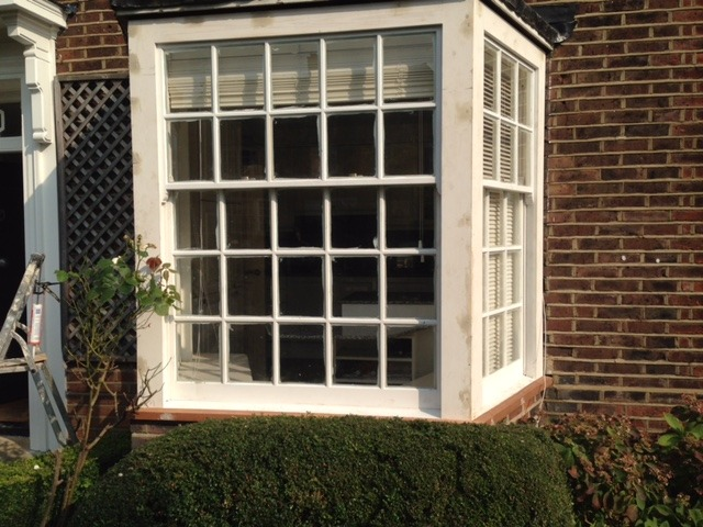 sash window from a different angle finchley