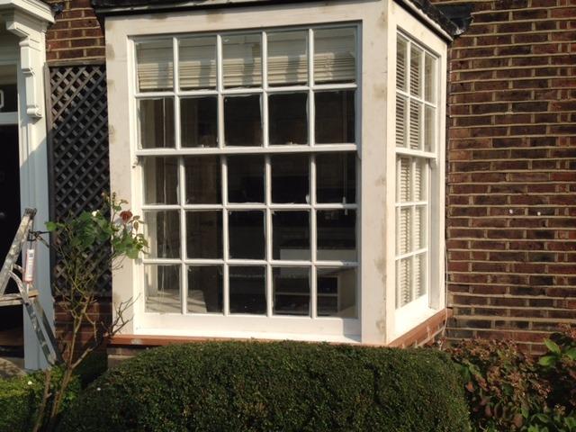 sash window created by kings cross joinery london