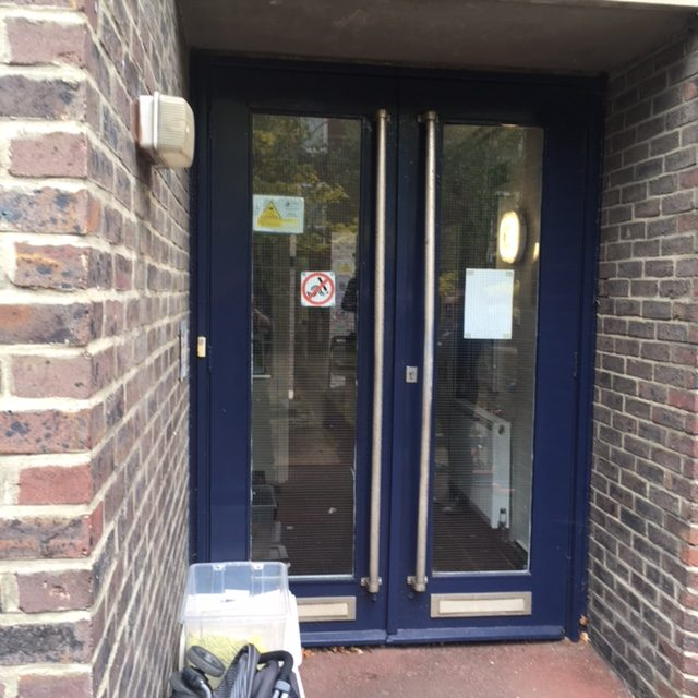 replacement door for wheelchair access