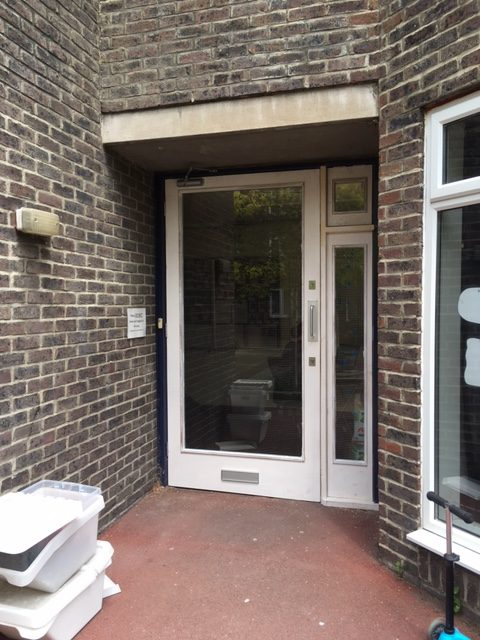 door for wheelchair access